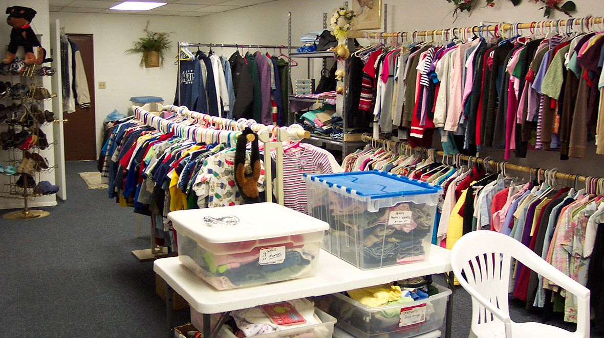 Shepherd's Pantry - Services - Clothing